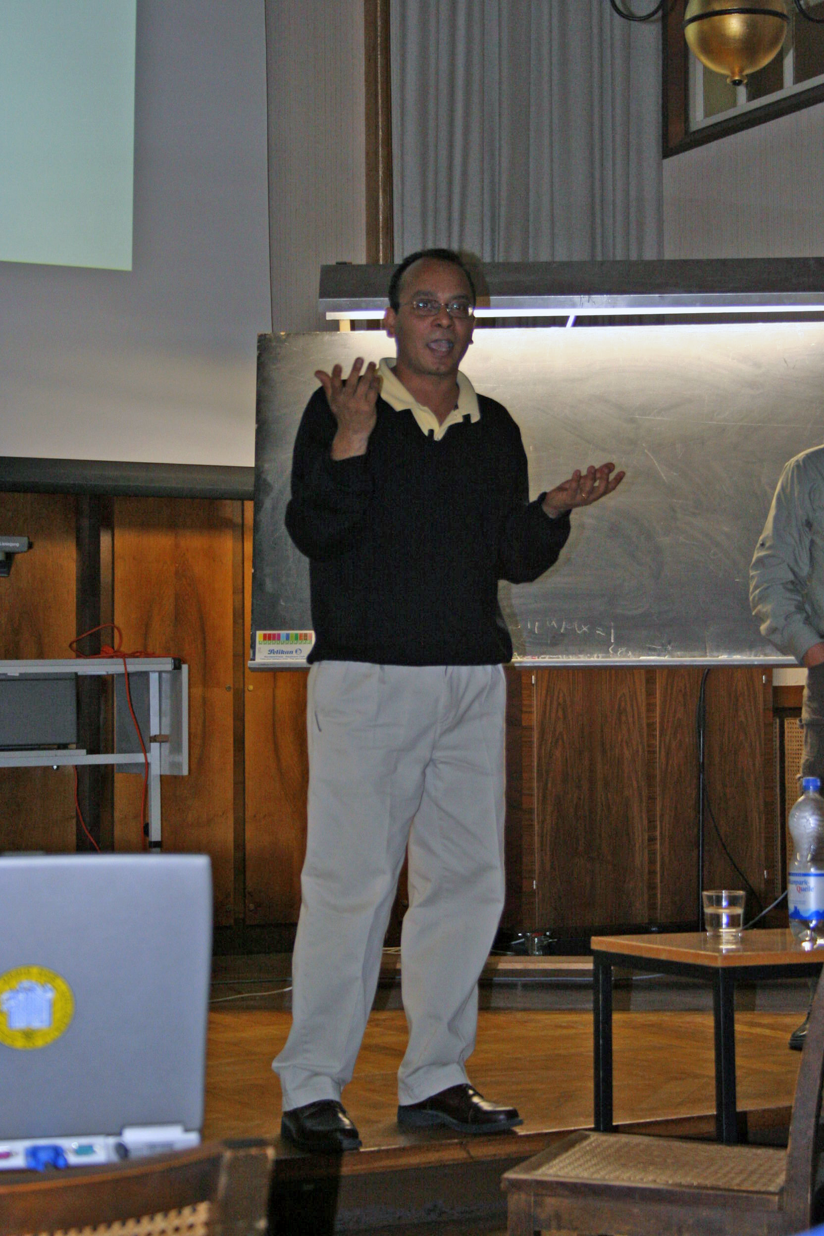 Vivek Lecturing