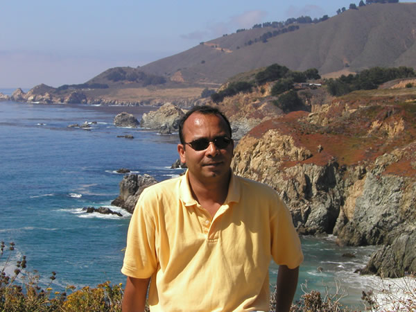 Vivek in Big Sur